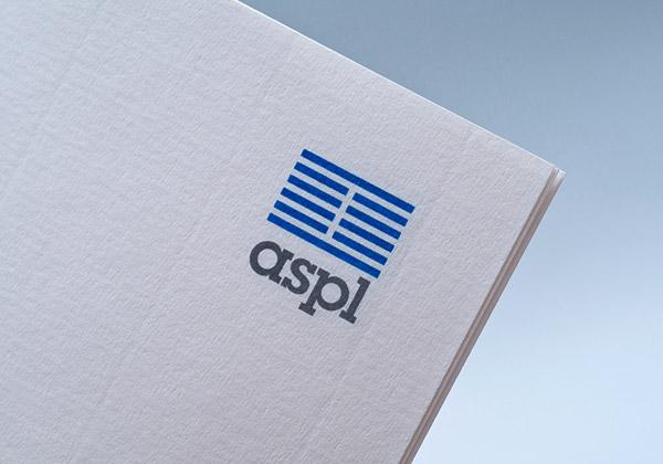 Technology Logotype folder Servers hardware josef albers minimalist bauhaus lines business card stationary