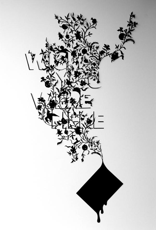 typographic wordsarepictures