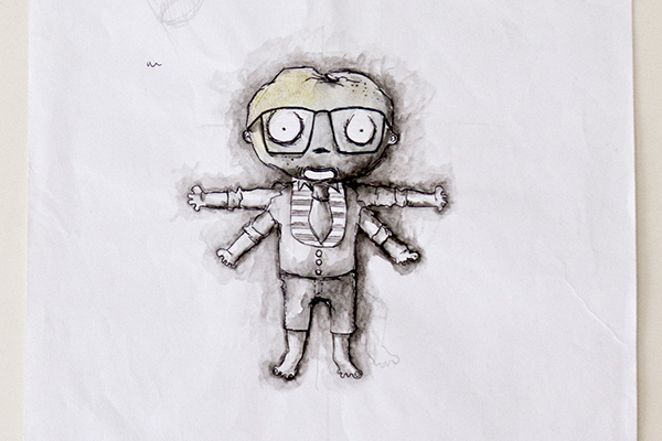 ... boy and computer funny cartoon vector illustration stockpodium