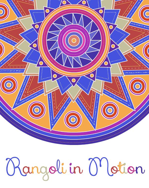Fine Art Rangoli Design Art