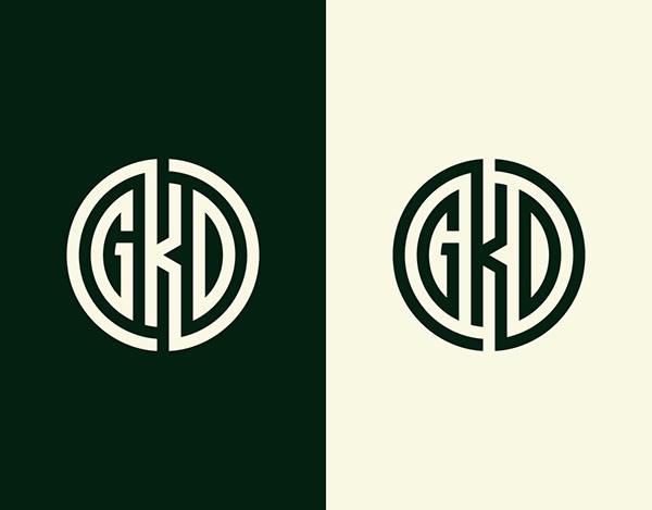 GKD Monogram - Initial letter logo