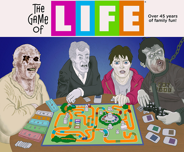 The Game of Life Zombie