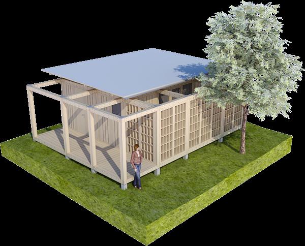 Modular Shelter Systems : Grammar for shelters modular on behance