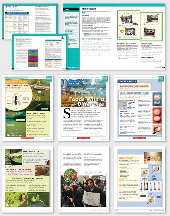 book design production design educational publications Educational Materials informational texts