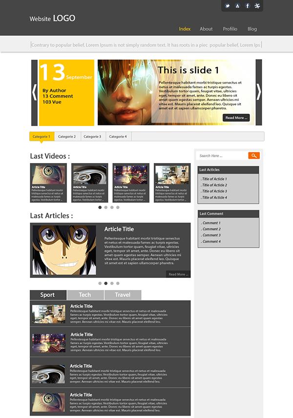 Website doddling Web