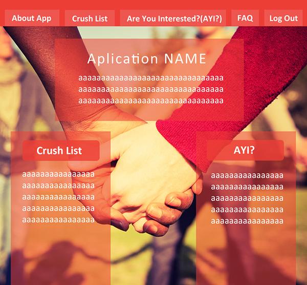 Love Finder - A Facebook Integrated app on Behance