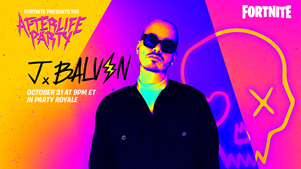 The Afterlife Party with J Balvin- Fortnite