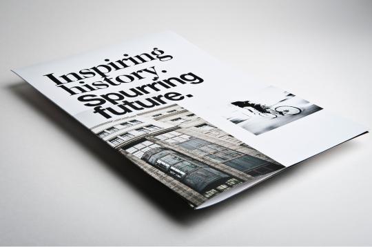 Corporate Design information box image folder Business Cards stationary car branding