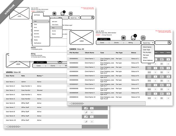 user interface Content Organization web application Content Management System balsamic mockup  Adobe CS5