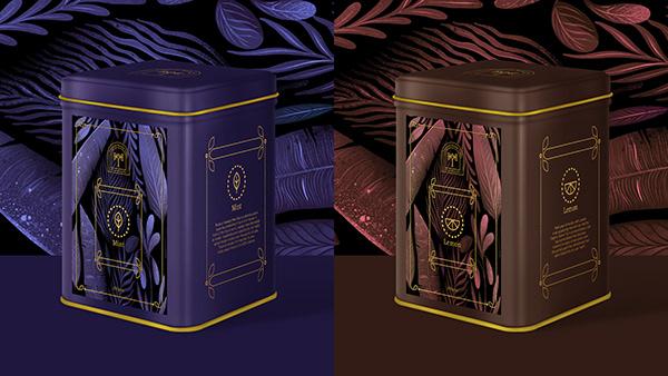 Tropical Kerela Tea | Visual Identity | Packaging