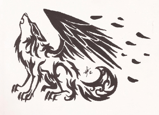 Wolf Tattoo Sketch Wolf Tattoo Design on Behance