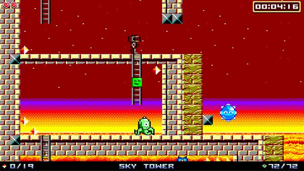 Life of Pixel - 8 & 16-bit pixel art game on Behance