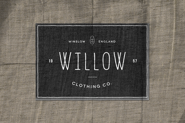 Clothing Design Logo Label Vintage Label Design from