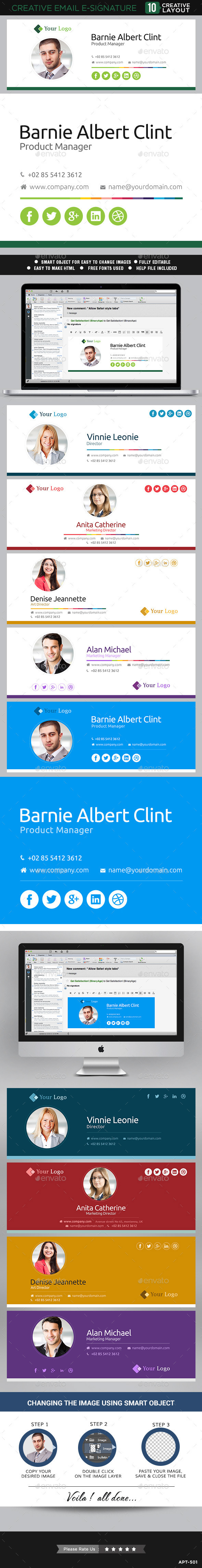 Email E Signature Templates 10 Designs On Behance
