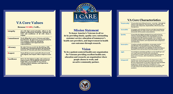Dept of veterans affairs on behance for Adobe mission statement