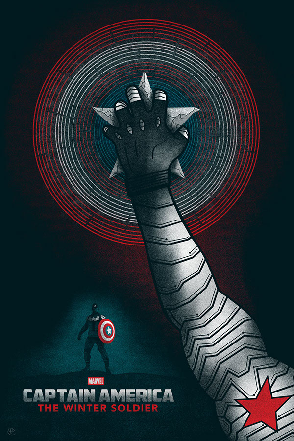 Captain America The Winter Soldier On Behance