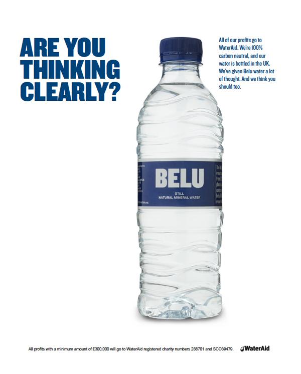 Belu WaterAid Campaign on Behance