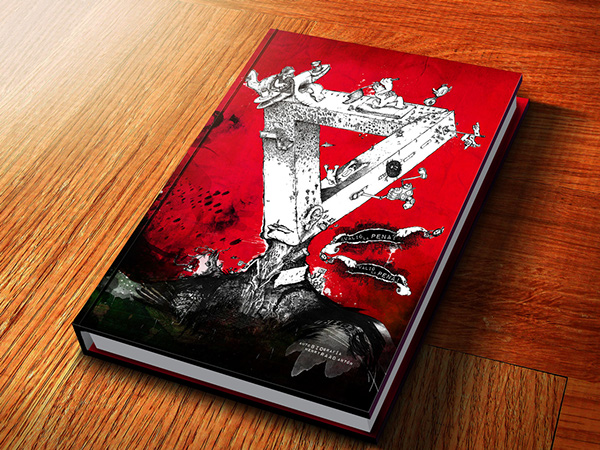 Illustrated Book Cover Job ~ Henry raad illustrated book cover on behance