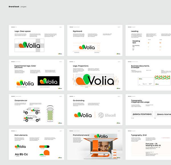 Volia new brand identity