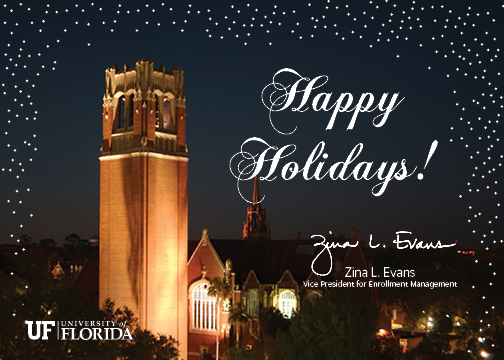the office of admissions internal electronic holiday card - Electronic Holiday Cards