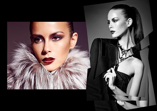 editorial shooting beauty dark studio creative Dynamic