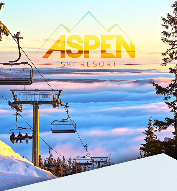 Aspen ski resort on the art institutes portfolios for Ski designhotel