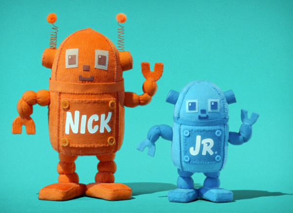 Nick Huggables Logo Ids Robots Behance