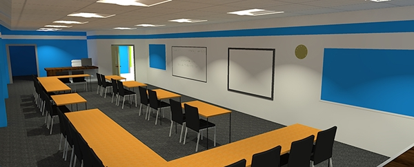Modern Classroom Interior ~ Modern school interior design on behance