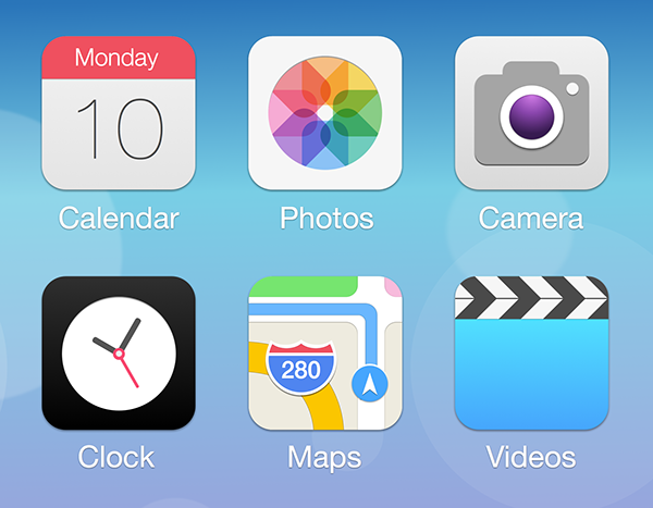 Ios 7 Redesign On Behance