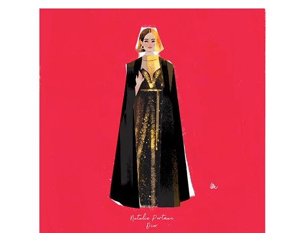 極美的49個時尚插畫欣賞