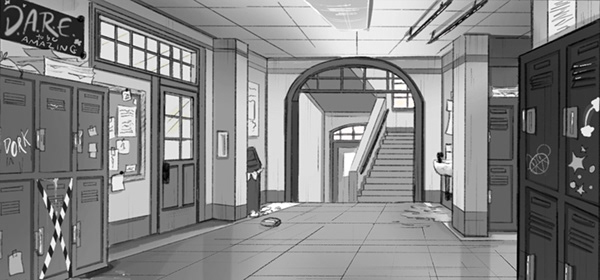 90s High School Animation Backgrounds On Scad Portfolios
