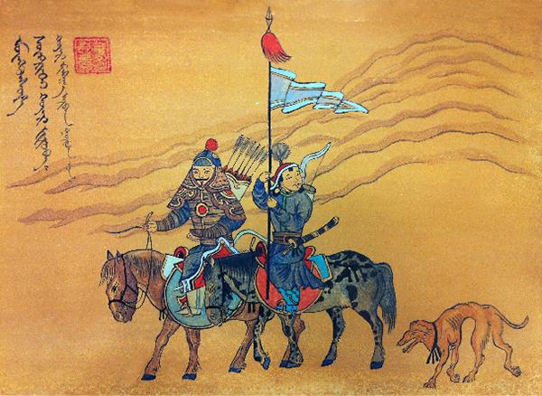 Mongolian Art Painting