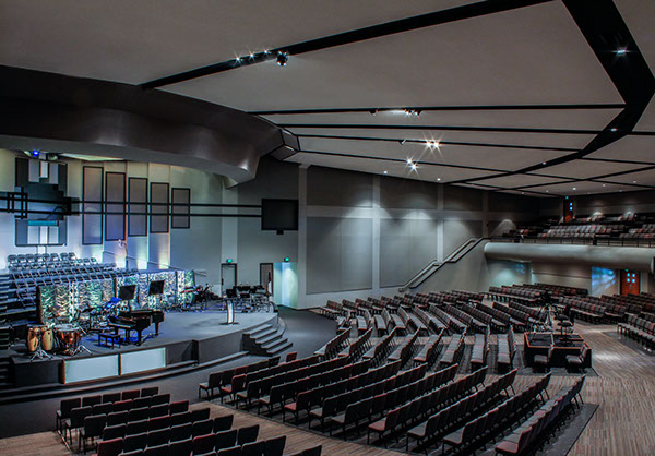 Trinity Baptist Church  Sanctuary