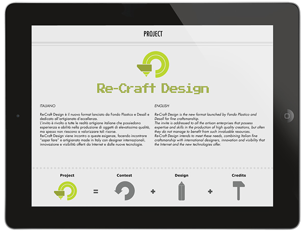 Re Craft Design App On Behance