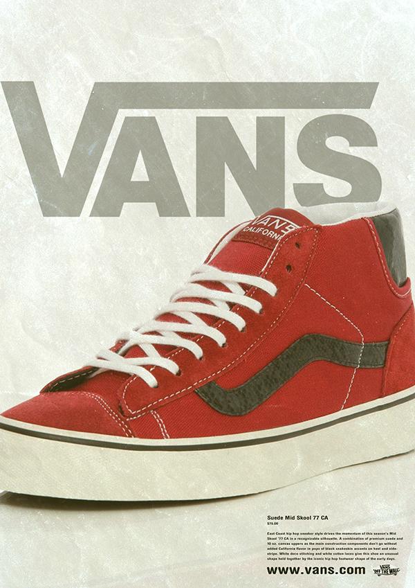 ec68d1b2730664 Advertising - Vans Shoes on Behance