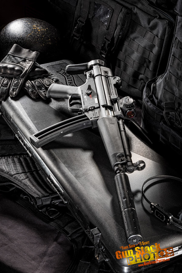 UZI -- MP5 Gun Magazine -- Japan on Behance