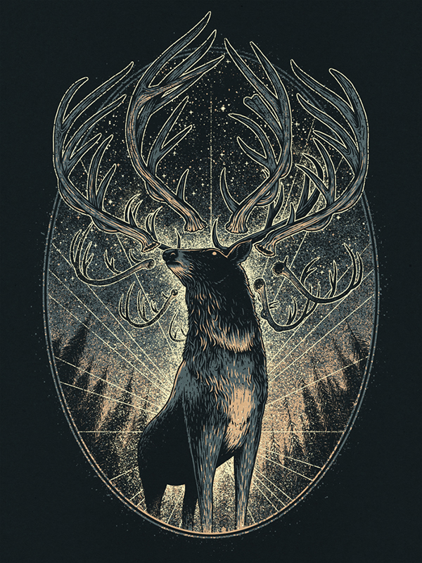 Deer King by Brian Luong