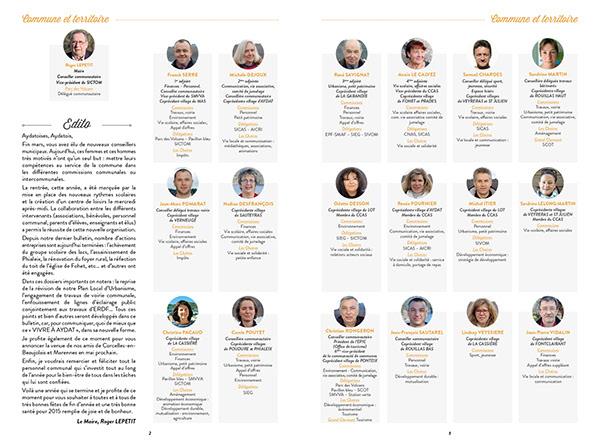 institutionnel Bulletin municipal