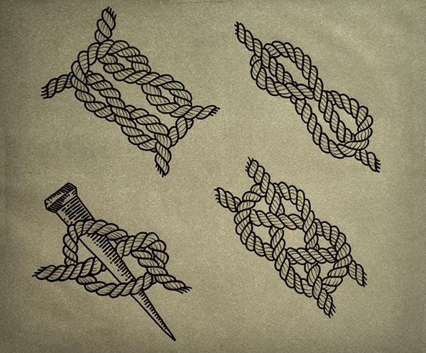 sailor knot tattoo on behance. Black Bedroom Furniture Sets. Home Design Ideas