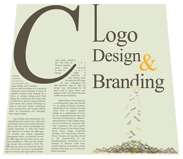 40 Examples of Clever Typography in Logo Design