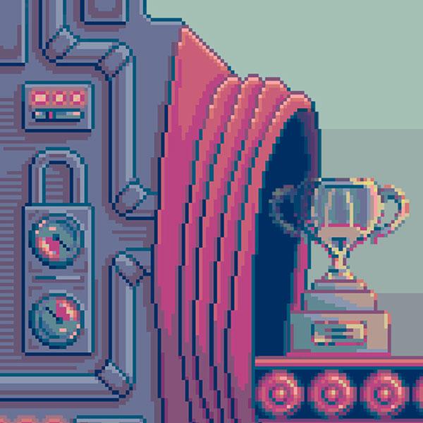 pixels Pixel art gif factory industrial Retro video game