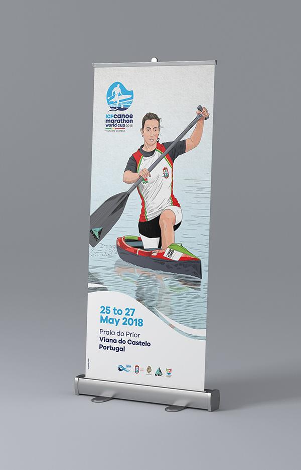 Canoe Marathon world cup viana do castelo Portugal