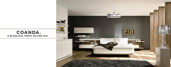 Bladeless Ceiling Fan coanda: a smart bladeless ceiling fan on behance