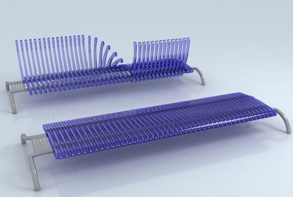 Wave Urban Bench On Industrial Design Served