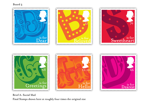 Rsa Student Design Awards 2012 Stamp Designs On Behance