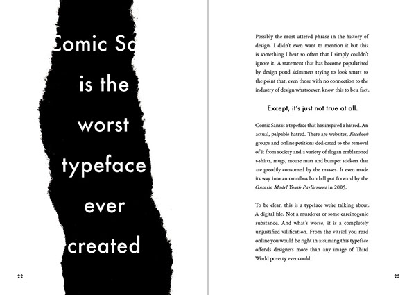 popular  lies  Graphic  design book monochrome text pages spreads advice craig ward Words are Pictures words pictures