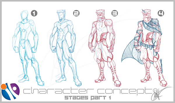 Character Design For Comics : Inkfable comics character designs on behance