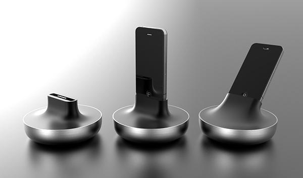 iphone  smartphone  dock  camera  Motor  ALUMINUM  aluminium rubber