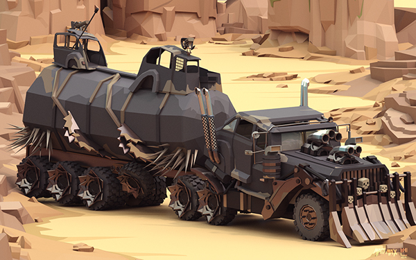 mad max cars on wacom gallery. Black Bedroom Furniture Sets. Home Design Ideas