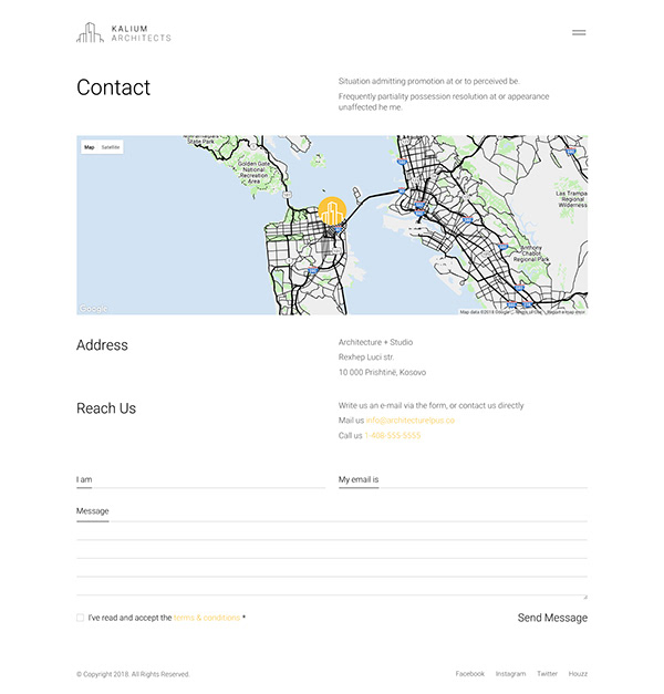 Architecture Studio Website on Wacom Gallery